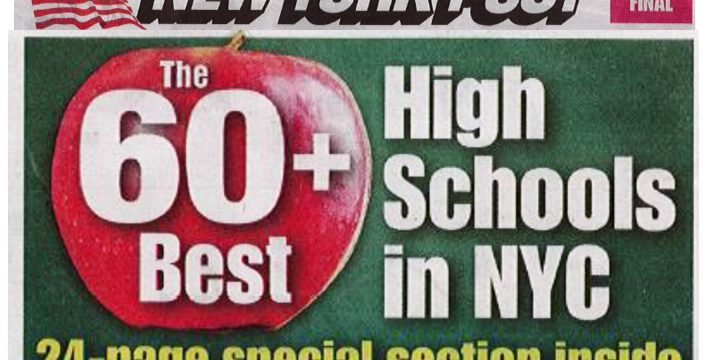 New York Post lists SMS High School as one of the Best High Schools in NYC!