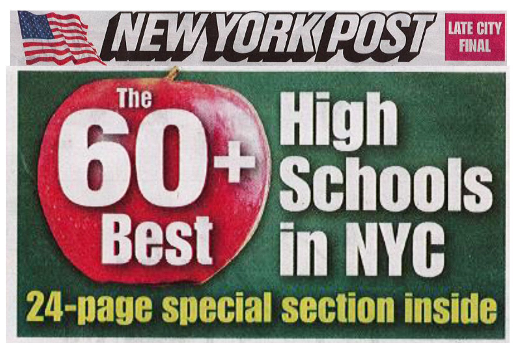 NY Post lists SMS High School as one of the Best High Schools in NYC!